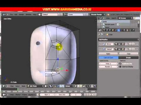 tutorial blender 3d membuat karakter full download membuat karakter manusia 3d di blender