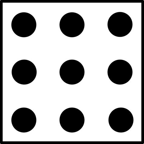 printable dice dot patterns dice clipart