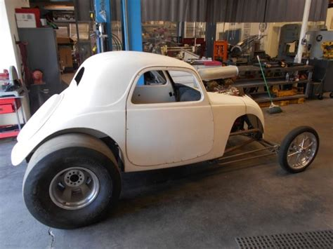 Fiat Topolino 1937 Fiat Topolino Drag Altered Gasser With Title Big