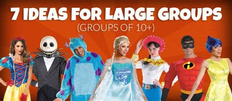 ideas for large groups 7 costume ideas for large groups