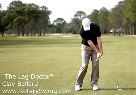 right hand in golf swing increase your forward shaft lean with this exaggerated lag