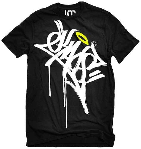 Kaos Hood96 By Hip Hop kaos graffiti shirt 5 colors tag edm shirt