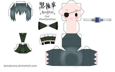 Papercraft Animation - mi mundo de eumotaku papercraft chibic bases