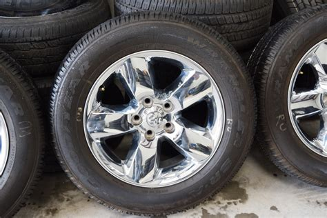 dodge ram 20 inch chrome used wheels tires for sale oem
