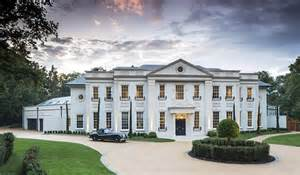 luxury home design uk stunning contemporary classical mansion in surrey