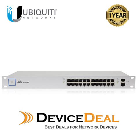 Ubiquity Unifi Switch 24port 500w Us 24 500w ubiquiti networks unifi switch us 24 500w 24 port managed poe gigabit switch