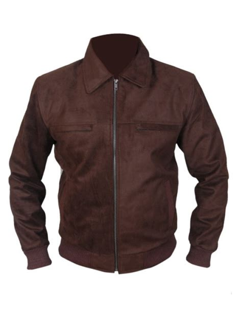 Pu Bomber Jacket suede brown pu bomber jacket theleatherfactory
