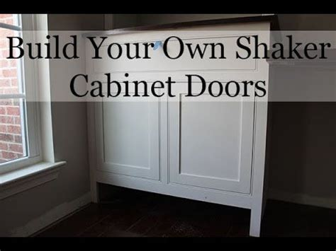 how to shaker cabinet doors with a router building shaker cabinet doors with a router cabinets