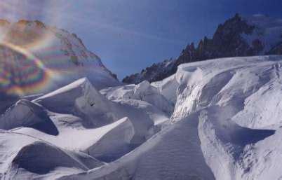 cadenassage et autres méthodes glacier du g 233 ant vall 233 e blanche
