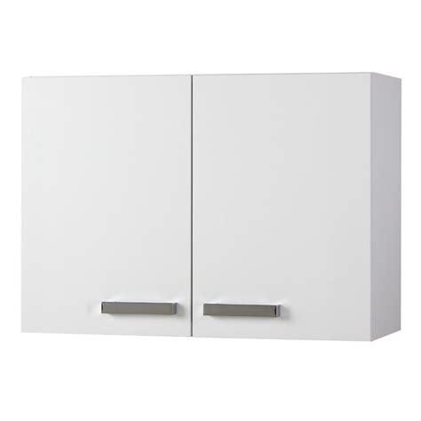 suny meuble haut de cuisine 80 cm blanc achat vente
