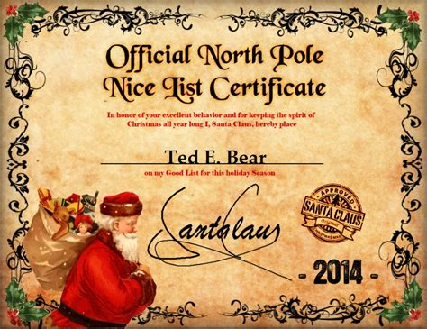Official Pole Letterhead free letter from santa clause search results calendar 2015