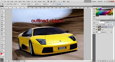 something that changes color changing color of an object photoshop tutorial org