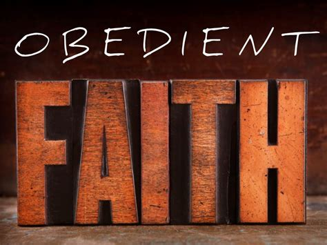 how to your to be obedient obedient faith 187 the lakes anglican church