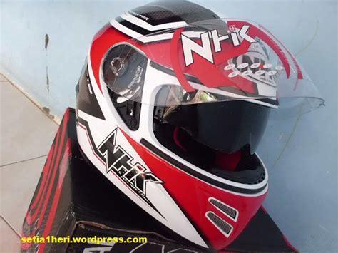 Helm Nhk Fighter Meminang Helmnya Sang Juara Hehehe Setia1heri