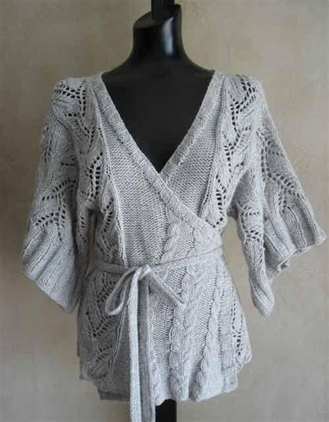 pattern for kimono cardigan 69 cables and lace kimono wrap cardigan knitting pattern