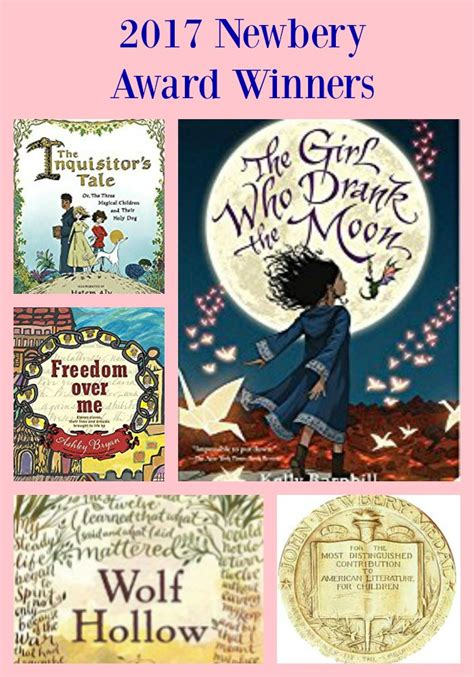 honor books 2017 newbery award winnerspragmaticmom pragmaticmom