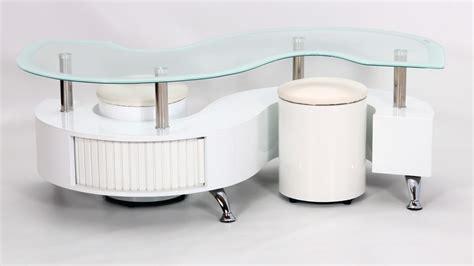 s shaped white boarder s shape coffee table high gloss homegenies