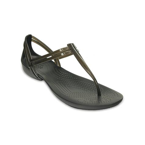 croc womens sandals crocs crocs t black ux 7 202467 001