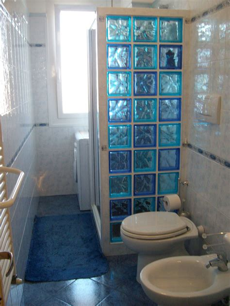 bagno vetrocemento cartongesso in bagno