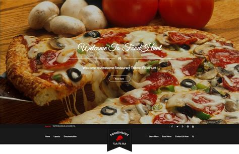 the best free themes 10 best free responsive restaurant theme 2018