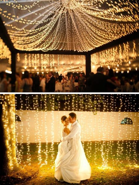 Twinkle Lights For Weddings Lights Wedding