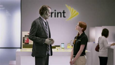 sprint commercial actress auction sprint unlimited my way tv spot zombie ispot tv