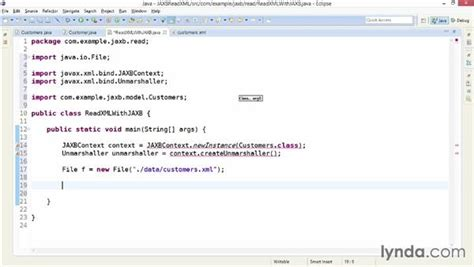 jaxb tutorial read xml parsing xml with jaxb and annotated classes