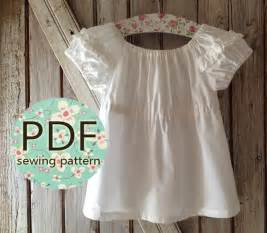 sweet cheeks peasant top pattern pdf s sewing