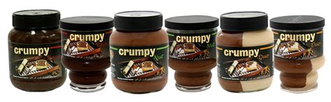 Crumpy Duo Hazelnut Spread crumpy spread chocolaty and nutty goodness a not so popular kid food