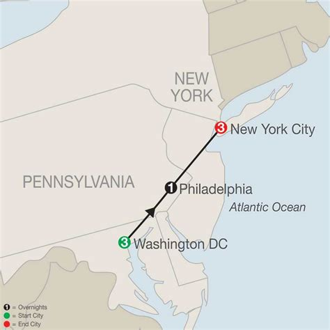 washington dc map new york new york washington dc philadephia niagara falls
