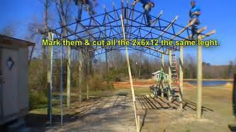 metal pole barn trusses armour metals steel truss pole barn kit diy