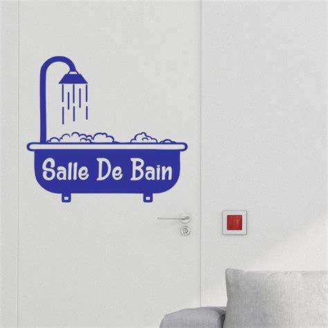 Stickers Pour Baignoire by Sticker Porte Salle De Bain Baignoire Avec Mousse