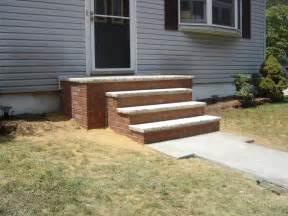 brick front steps keansburg from jgw masonry in long branch nj 07740
