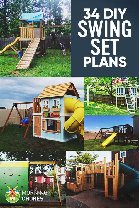 outdoor paint for adults 34 free diy swing set plans for your backyard