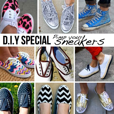 shoe designs diy pimp your sneakers 10 diy ideas tutorials