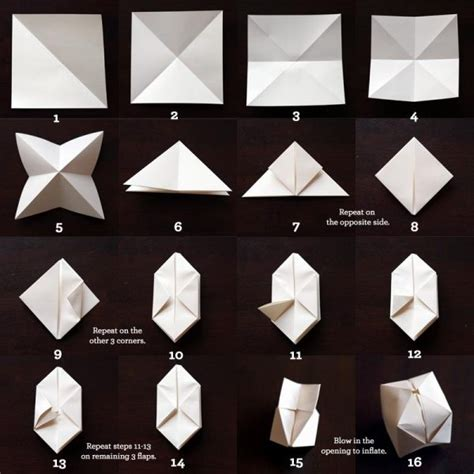 Make Origami Cube - simple to make paper origami cubes find projects