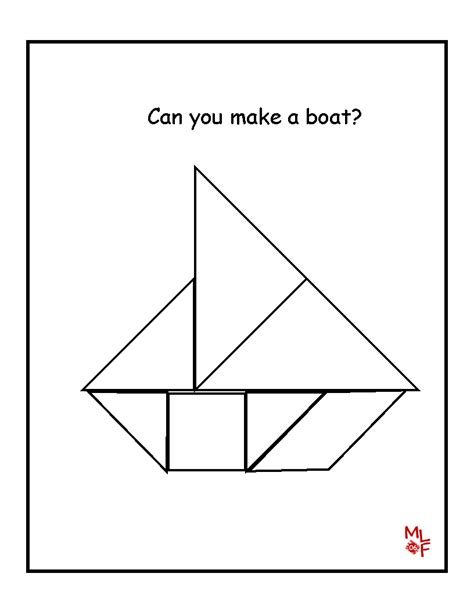 sailboat template for preschool learning printables for