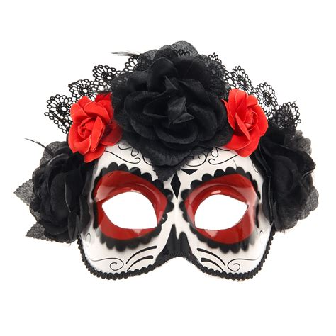 day of the dead sugar skull halloween mask day of the dead sugar skull halloween costume