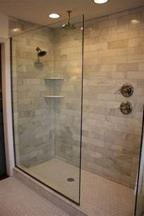 Best Bathroom Showers Design Of The Doorless Walk In Shower Decor Around The World