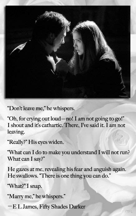 Ian Somerhalder as Christian Grey / Nina Dobrev as