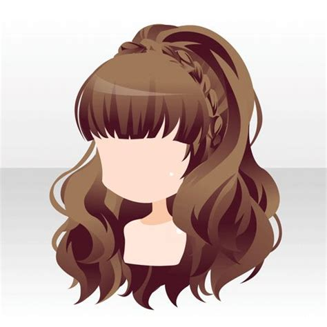 long hairstyles cartoon drawn long hair cartoon pencil and in color drawn long