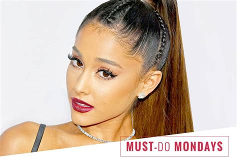 how to do a ariana grande high ponytail ariana grande s hairstylist uses this 3 product for a