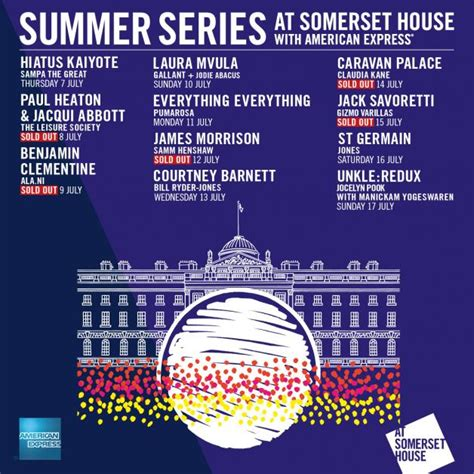 somerset house music somerset house summer series full line up announced