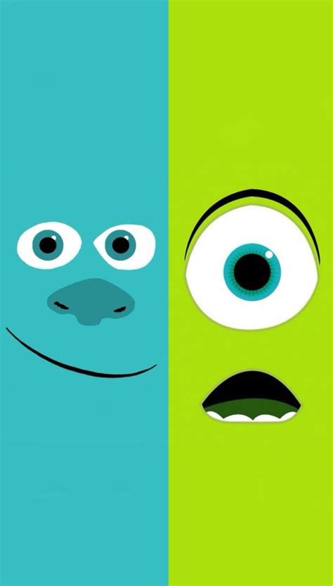 Wallpaper Iphone Monster Inc | monsters university mike sulley iphone wallpaper