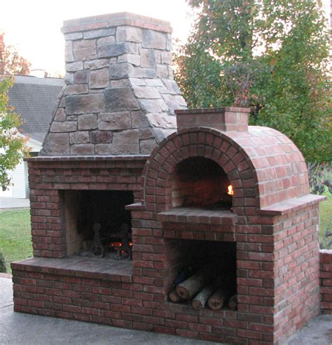 brick oven backyard the riley family wood fired diy brick pizza oven and