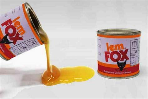 Lem Fox Aibon Penjualan Lem Fox Dibatasi Karena Mengandung Zat Adiktif