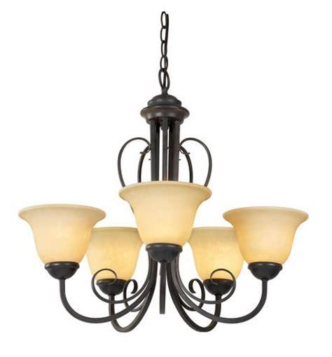 ericka 5 light 21 quot chandelier at menards lighting
