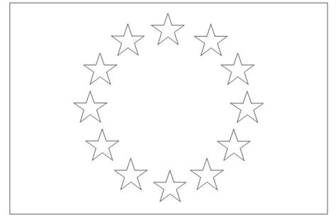 european union flag coloring page free coloring pages of eu countries flags