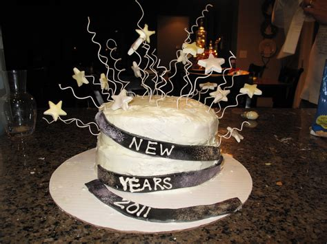 how to make a new year cake the baker new years cake