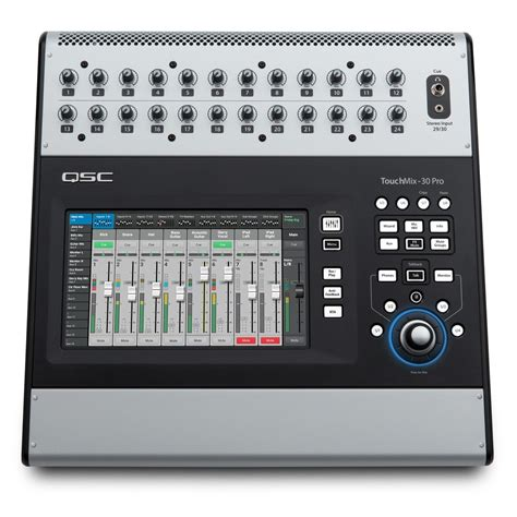 Mixer Digital Qsc qsc touchmix 30 pro digital mixer at gear4music